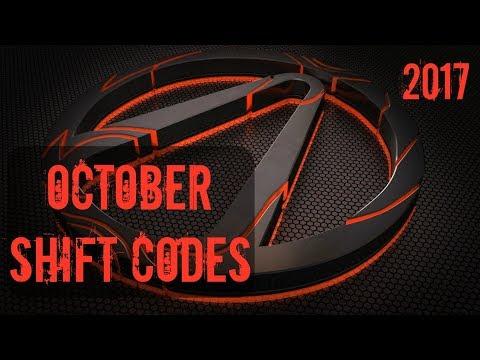 Borderlands 2 | (October) Shift Codes (2017)