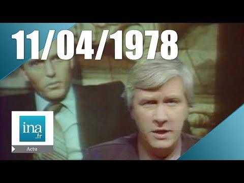 20h Antenne 2 du 11 avril 1978 | L'affaire du Baron Empain | Archive INA