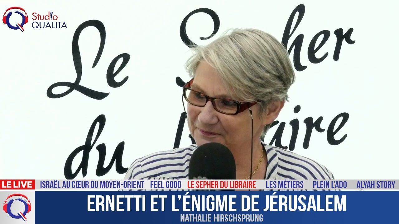 Ernetti et l'énigme de Jérusalem - Le Sepher du Libraire#103