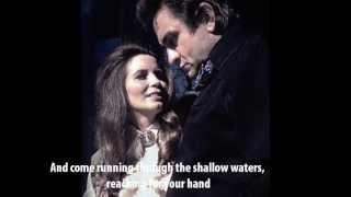 Far Side Banks Of Jordan - Johnny Cash & June Carter Cash (with lyrics)