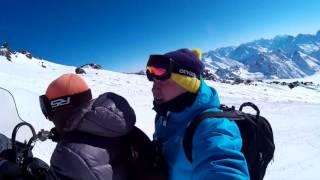 Mount Elbrus 2016 (Caucasus): Ski, Snowboard, Gara Bashi , Skaly Pastukhova, станция Мир  - Кругозор