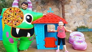 Öykü Pizzasını Neden Kendi Aldı! - Play house bought - Funny Oyuncak Avı