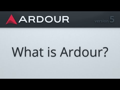 What is Ardour?