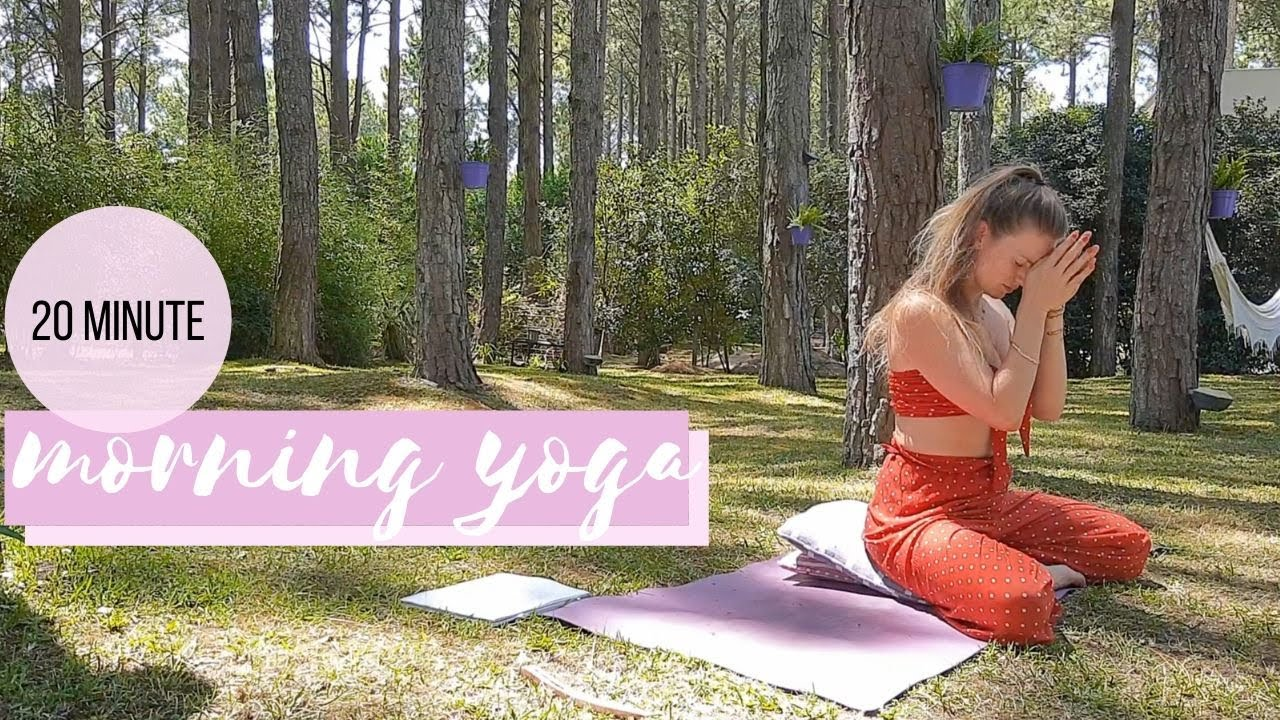 20 MINUTE MORNING YOGA FOR AN AMAZING DAY