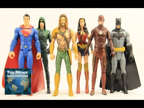 """Batman v Superman: Dawn Of Justice 6"""" (Superman, Batman, Wonder Woman, Aquaman) Basic Figures Review"""