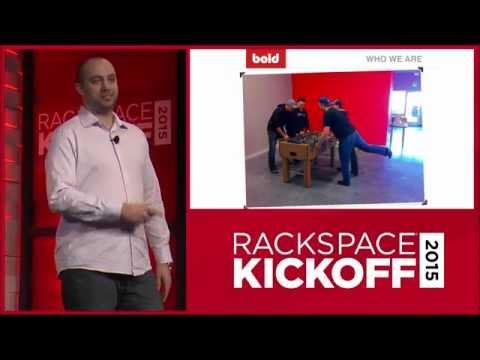 Bold Apps Talking at the Rackspace 2015 Kickoff
