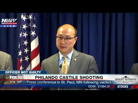 WATCH: Officials Speak Out Following Philando Castile Shooting Verdict, Officer Yanez NOT Guilty