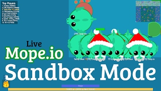 Mope.io Live XLIV: Sandbox Sunday | Does the ability spamming glitch really work?