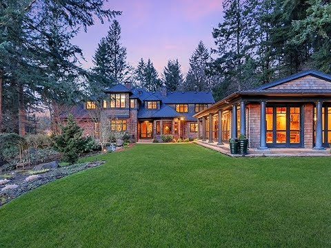 Private Custom Estate on 24 Acres in West Linn ~ Oregon Luxury Homes