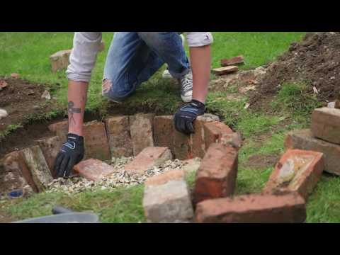 How to build a Firepit in 4 minutes!!