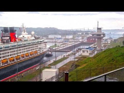 Panama Canal, Visiting the New Locks (Agua Clara, Colon) Ship Spotting - November 4th, 2017