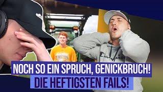 noch so ein Spruch...GENICKBRUCH! |  FAILS REACTION 😖