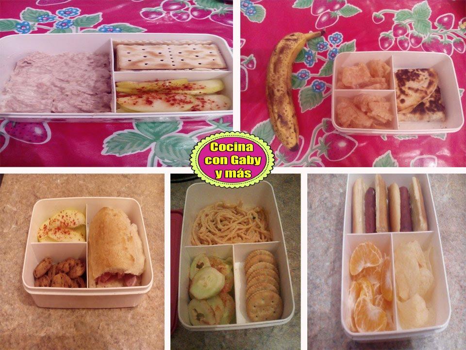 Ideas de lonches fáciles y ricos para la escuela | opción 1 | - YouTube