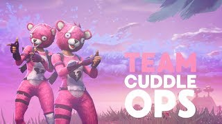 TEAM CUDDLE OPS! NEW SKIN: TEAM CUDDLE LEADER (Fortnite Battle Royale)