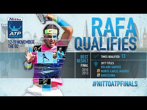 Nadal First To Qualify For Nitto ATP Finals