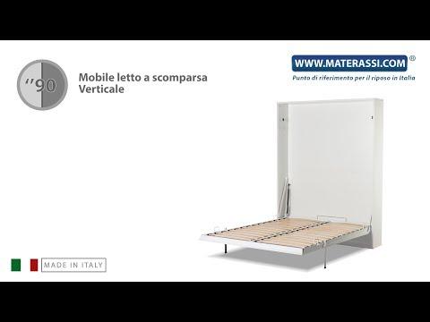 Letto A Scomparsa Verticale.Come Si Monta Un Mobile Letto Verticale A Scomparsa Youtube