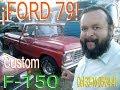 """Ford 79 F 150 ¿en Venta? Camioneta De Carga Y De Colección L """"la Paloma"""" Ford 79"""