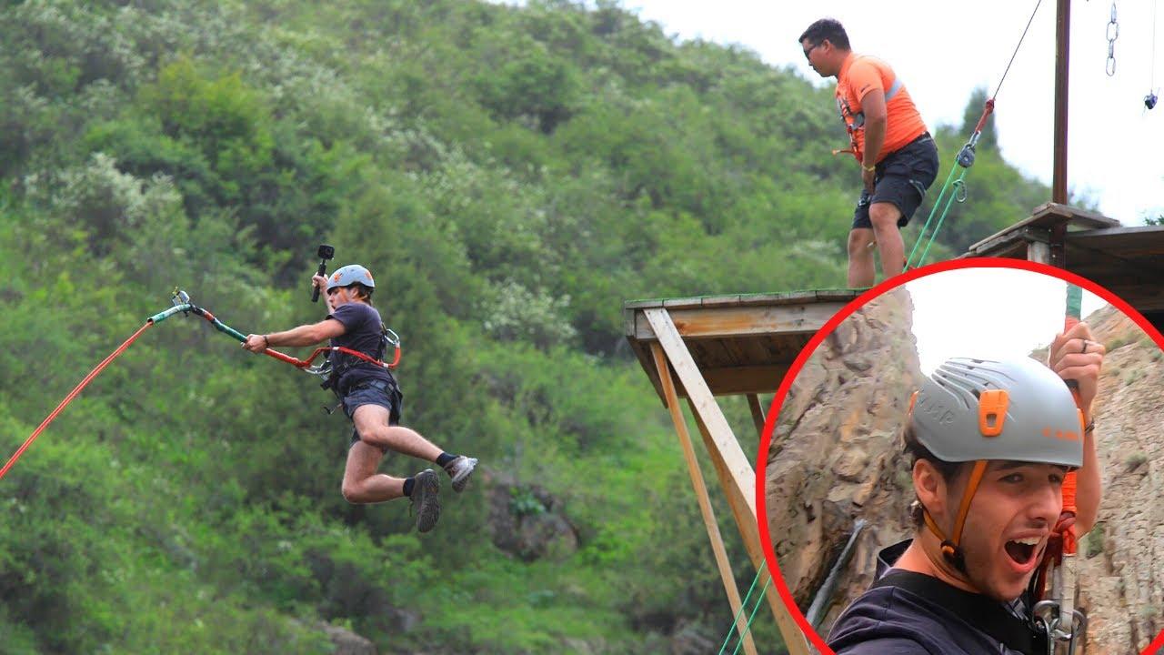 $25 Kyrgyzstan Bungee Jump 🇰🇬
