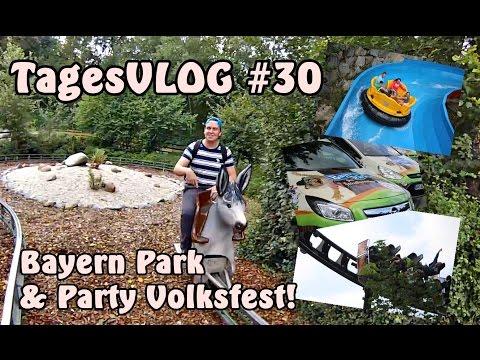 Ein Herz für Bayern | Bayern Park & Burgfest Hilpoltstein | Tages Vlog #30