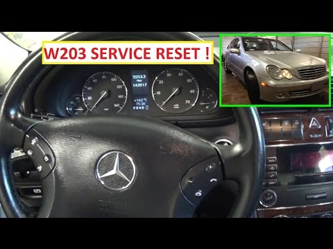 mercedes c class w203 service light reset 2000 2007 funnycat tv. Black Bedroom Furniture Sets. Home Design Ideas