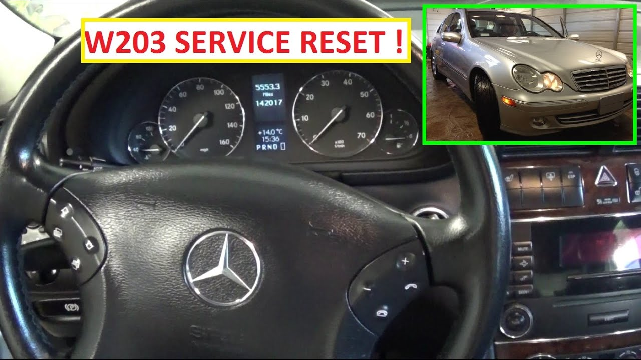 Reset The Clock In A C Mercedes Benz Sport