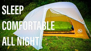 How To Sleep Iฑ A Tent And LOVE It