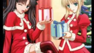 sexy christmas girls anime