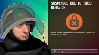 I GOT BANNED FOR THIS? - Rainbow Six: Siege FUNTAGE