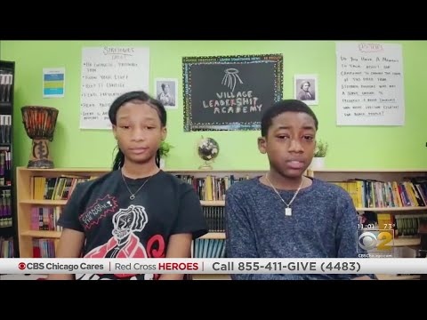 Red Cross Youth Heroes: Village Leadership Academy Students