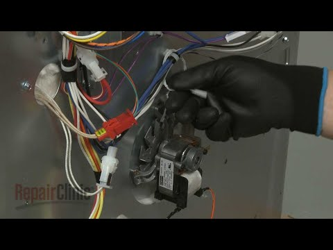 Convection Fan Motor - Kitchenaid Double Wall Oven (Model #KODE500ESS02)