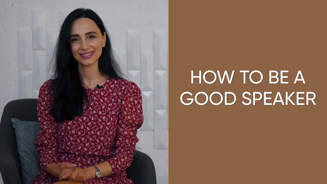 How to be a good speaker: tips to be a better speaker
