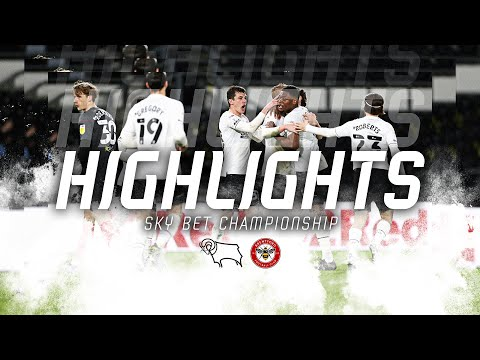 Derby Brentford Goals And Highlights