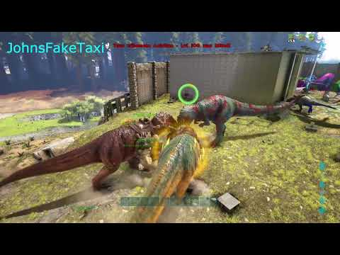 Ark Survival Evolved - Billy And The Boys Wipe BLACKOUT Server 861