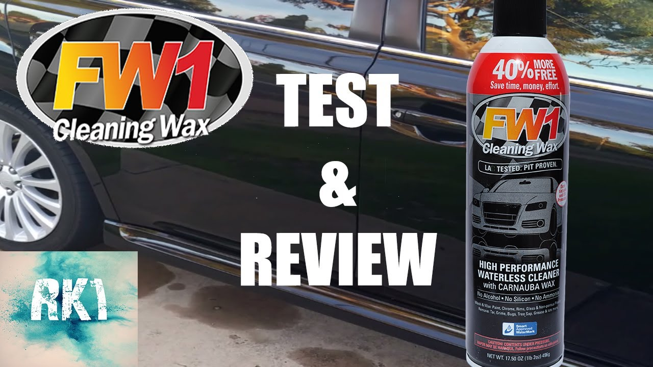 fw1 cleaning wax test and review youtube