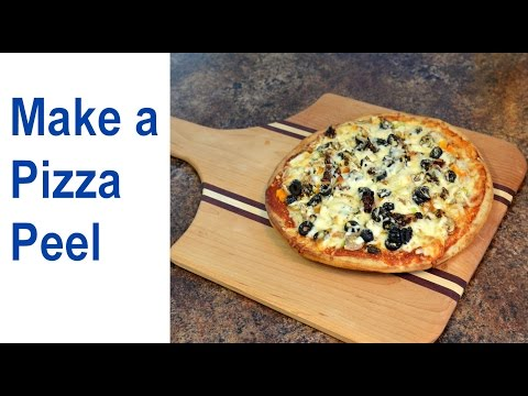 How to Make a Pizza Peel / Wood Pizza Paddle