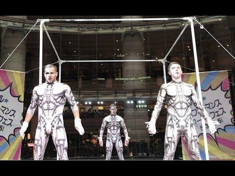 "Circus act ""Half-man"" on HIGH BAR 2018 - Гимнасты на перекладине"