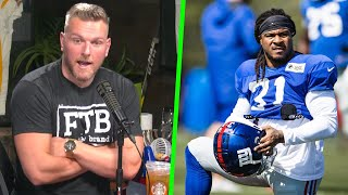 Pat McAfee Can The Giants New RB Replace Saquon Barkely