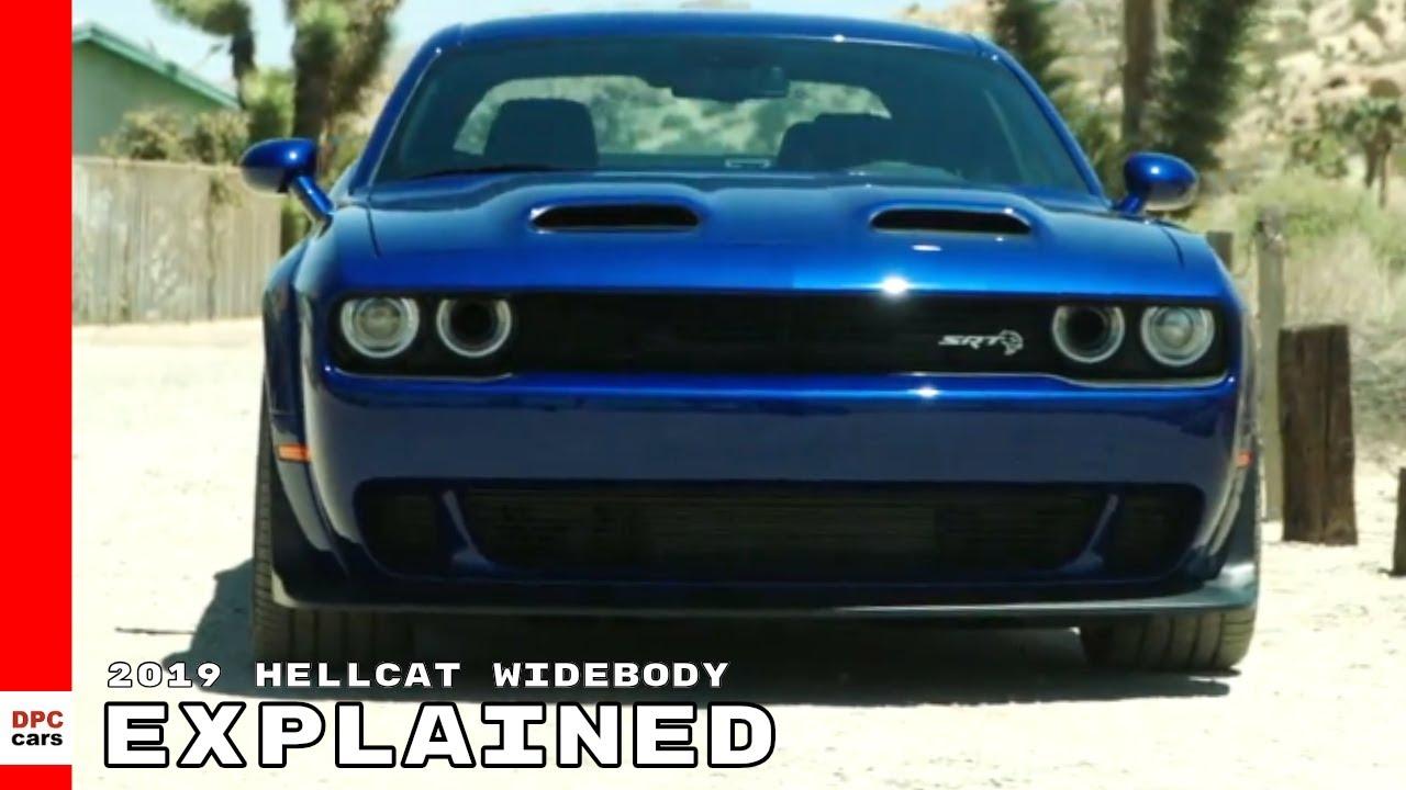 2019 Dodge Challenger Srt Hellcat Widebody Explained Youtube