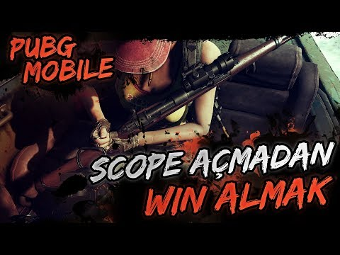 SCOPE AÇMADAN WİN ALMAK [PUBG Mobile]