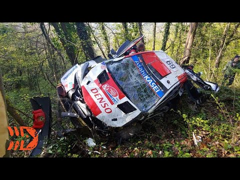 Rovanperä's Terrifying Crash Explained - WRC Croatia Rally 2021