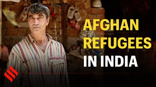 Afghan refugees earning their bread in India