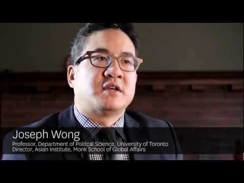 U of T Magazine - Joseph Wong, student experience at the Asian Institute