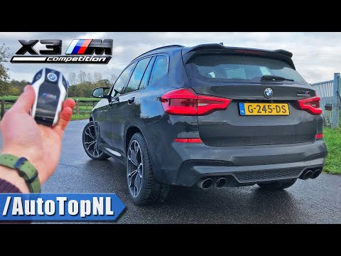BMW X3M Competition REVIEW POV On ROAD & AUTOBAHN (NO SPEED LIMIT) By AutoTopNL