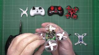 Micro quads - I built my own brushless version