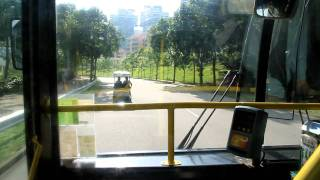 愉景灣巴士 DBay Bus 梅斯特斯-平治  Mercedes-Benz O405 (HV3718