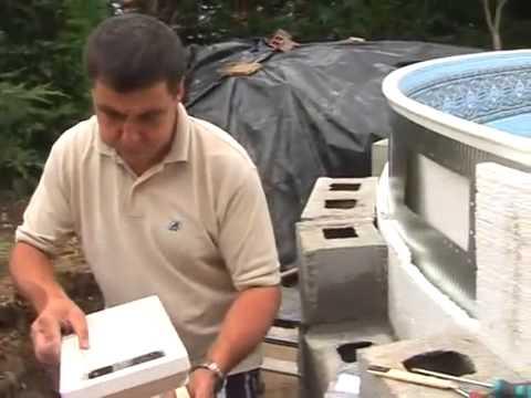 Montaje piscina enterrada gre youtube - Piscinas desmontables enterradas ...