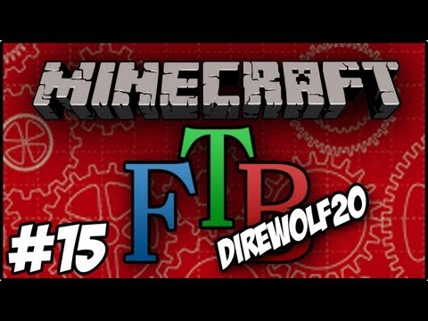 Minecraft: DireWolf20 Feed The Beast - Tome Of Alkahest, Coin Of Fortune and Salamanders Eye #15