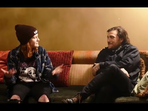 Girls Against - Frank Iero Interview - Dublin, Ireland