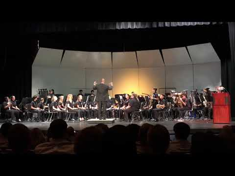 Louise R Johnson Middle School Wind Ensemble Spring Concert 5/21/18