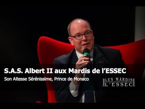 S.A.S. Albert II aux Mardis de l'ESSEC